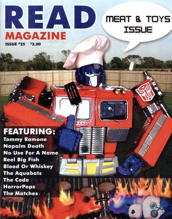 Read Magazine - Toys & Meat Issue Cover