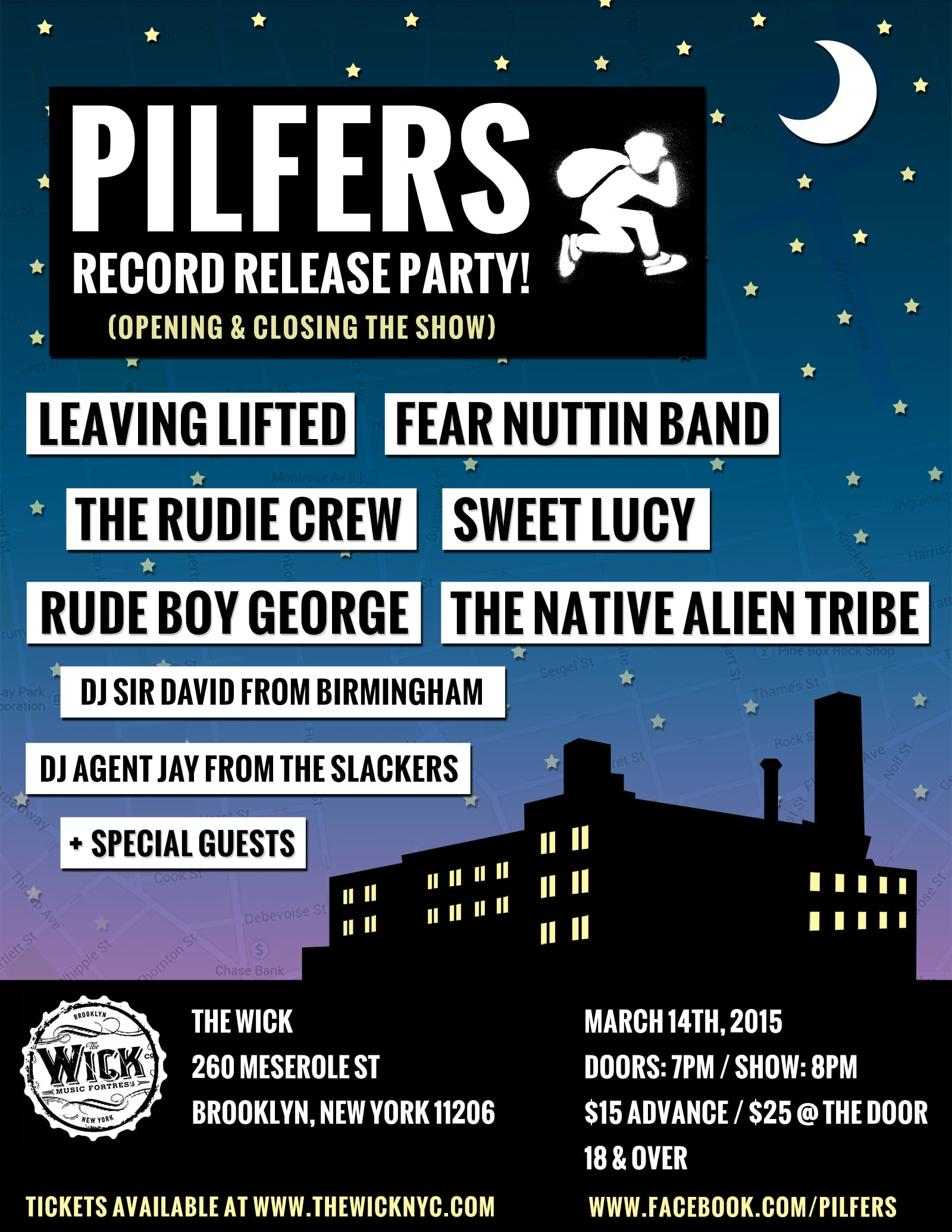 Show Flyers - Pilfers